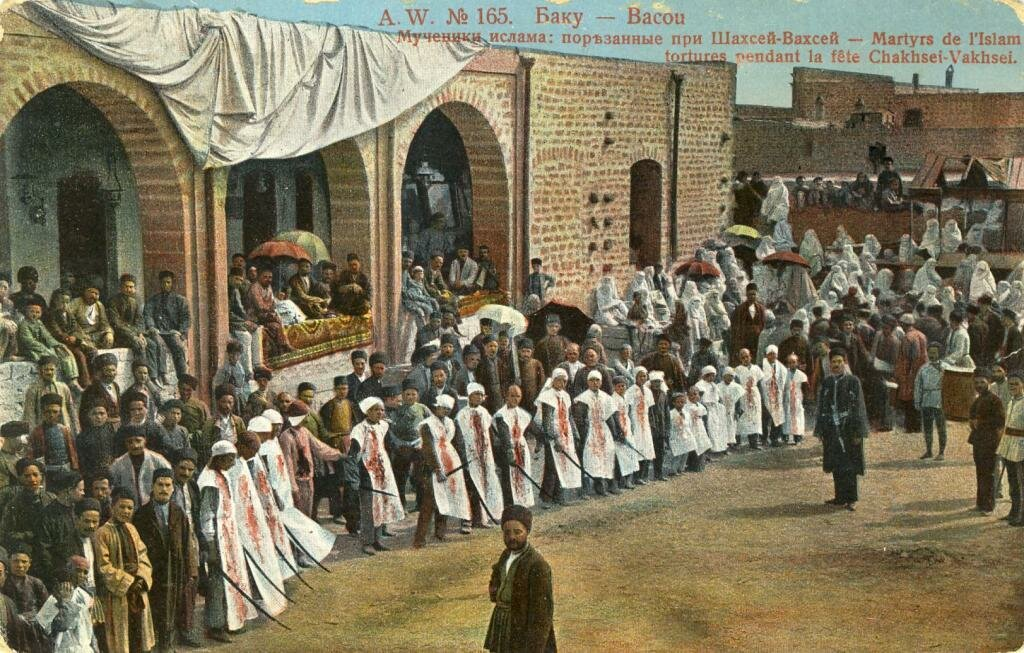 Мученики ислама порезанные при Шахсей-Вахсей