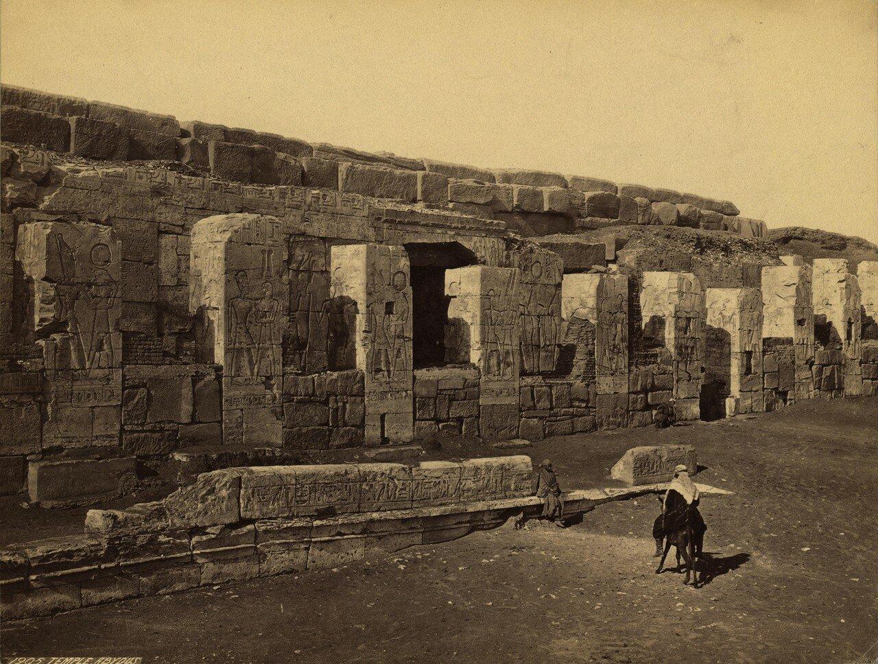 Абидос. Храм. 1856
