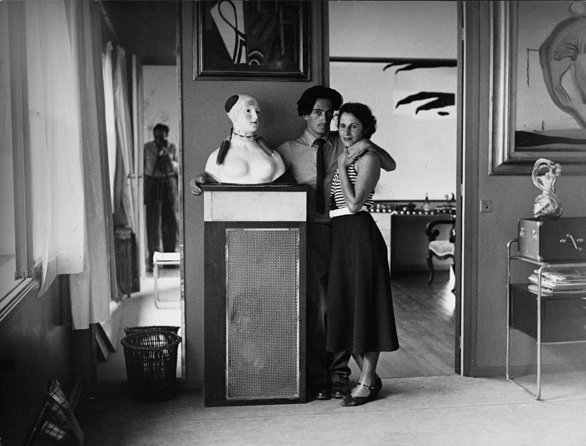 1932. Сальвадор Дали и Гала на вилле Серро
