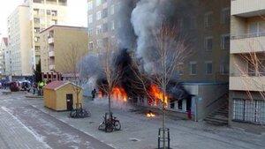 В Швеции на Рождество подожгли мечеть