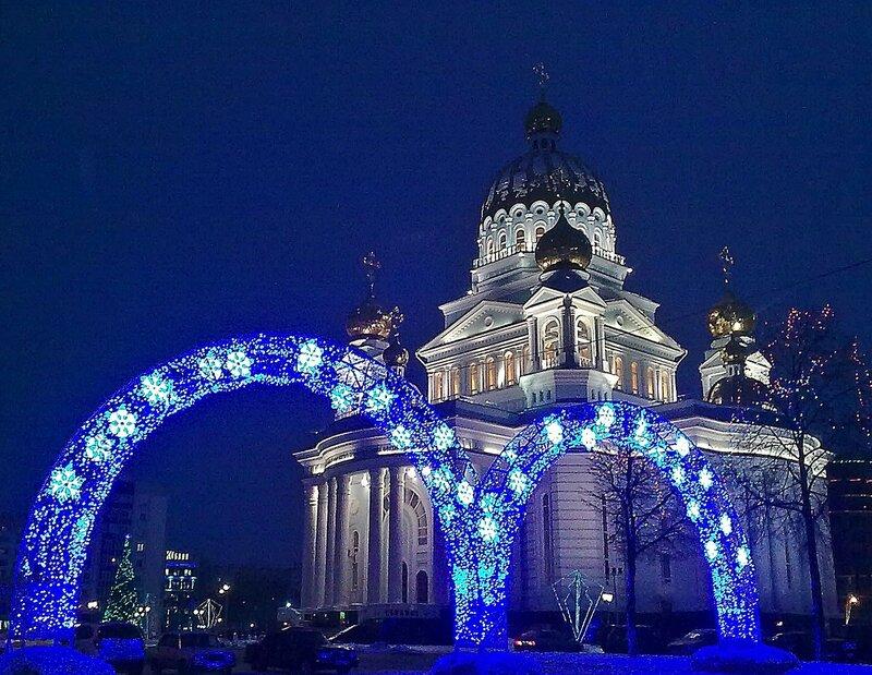 Новый Год приходит в город....
