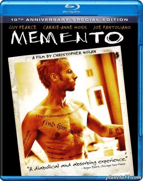 Помни / Memento (2000/BDRip/HDRip)