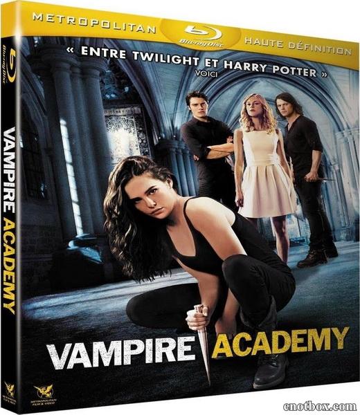 Академия вампиров / Vampire Academy (2014/BDRip/HDRip)