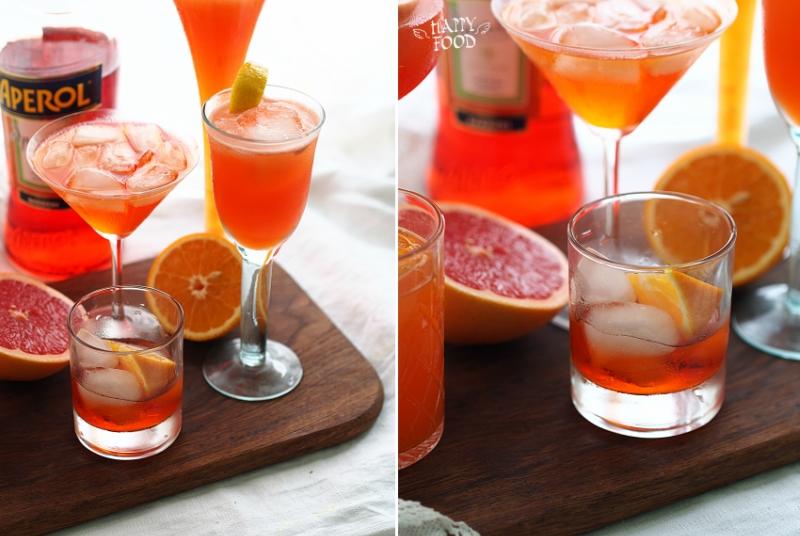 Простые коктейли с аперолем