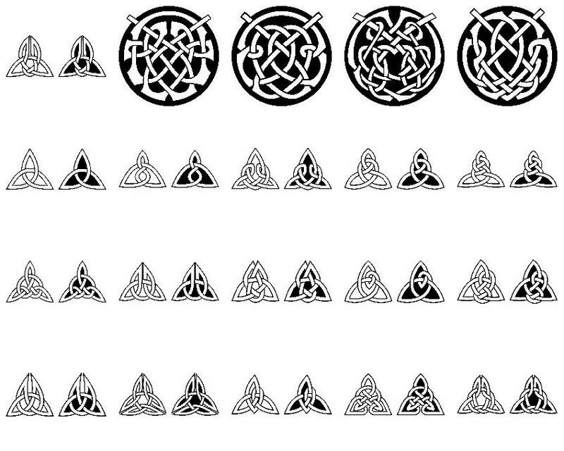 Кельтские узоры, орнамент