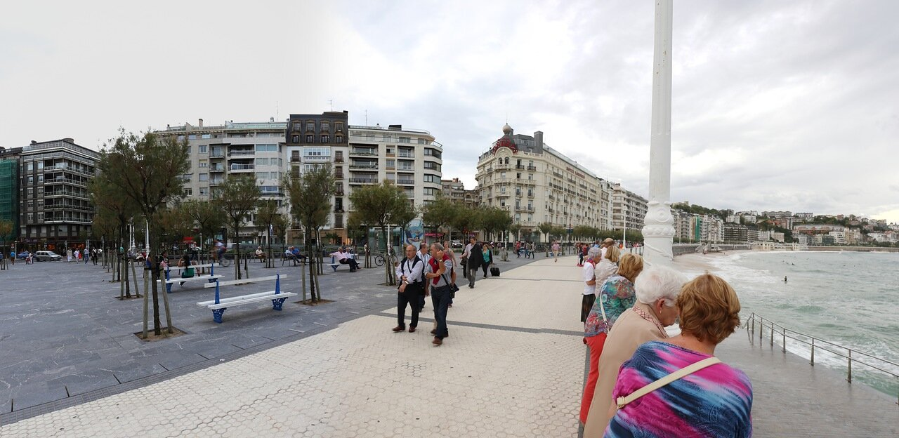 Доностия-Сан-Себастьян. Бульвар Конча (Kontxa pasealekura)