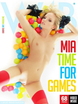 Журнал Журнал Watch 4 Beauty (2010): Mia-Time For Games