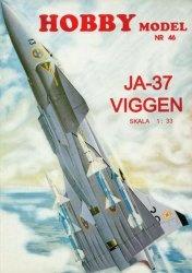 Журнал SAAB JA-37 Viggen [Hobby Model 46]