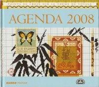 Mango - Agenda 2008 : Points de Croix Sur le Thème du Voyage