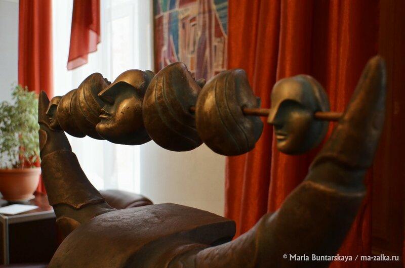 Открытие выставки 'Студент / Художник / Педагог', Дом работников искусств, 27 января 2015 года