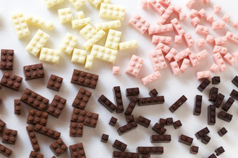 Лего из шоколада