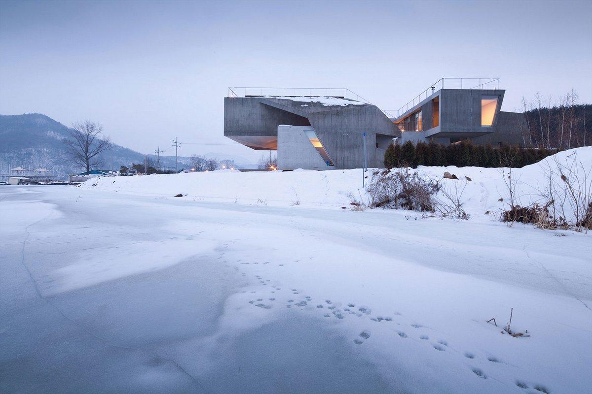 IDMM Architects, Частный дом Rivendell, особняк в Корее, архитектура Южной Кореи, частная архитектура, жилая архитектура, огромный частный дом