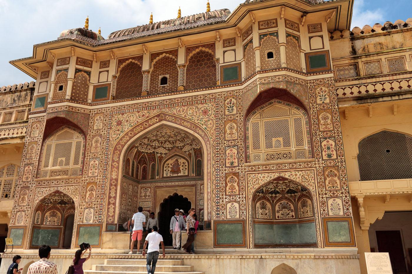 Фотография 11. Стоит ли ехать в Джайпур? Ворота Ганеши