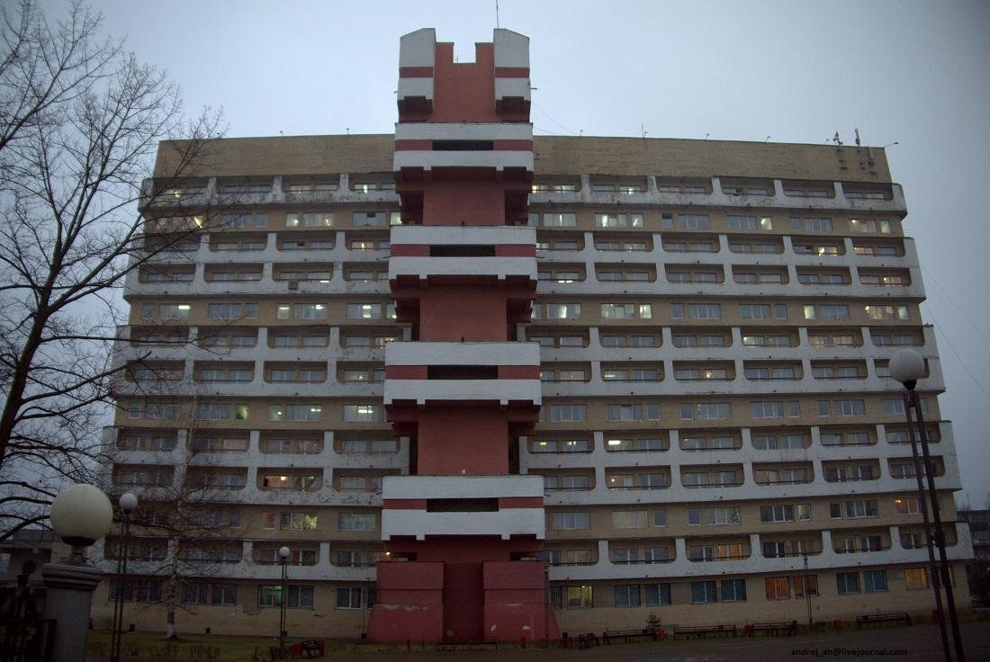 Бастилия ПГУ в Новополоцке..