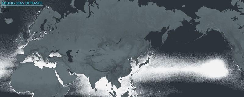 Интерактивная карта пластикового мусора.