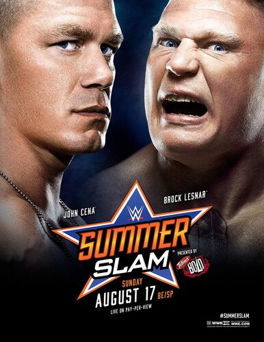 Post image of WWE Summerslam 2014