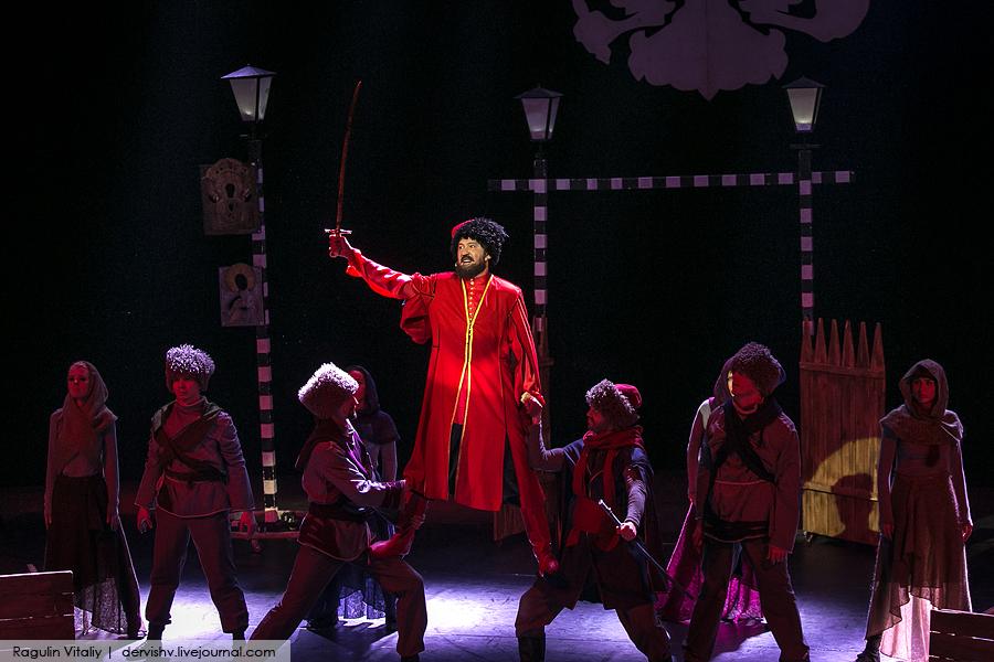 Рок-опера «Капитанская дочка» в театре на Басманной