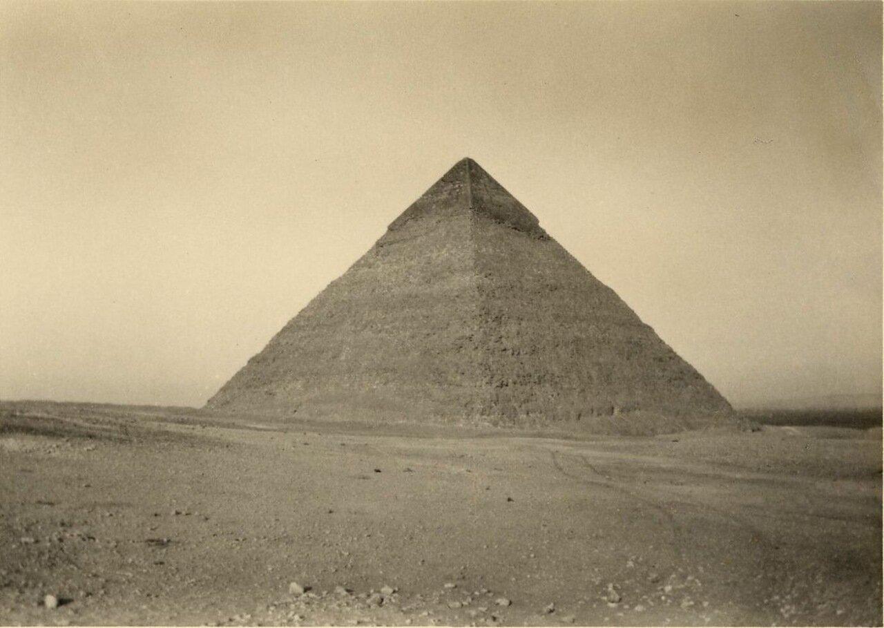Гиза. Пирамида. 1930