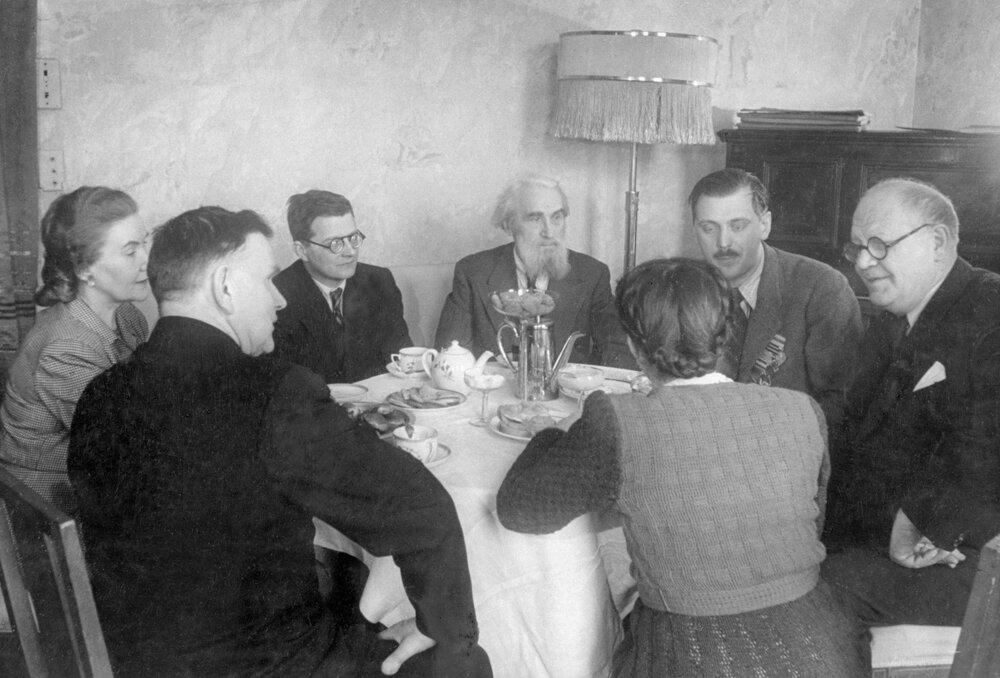 1945. Возвращение скульптора Сергея Коненкова в СССР