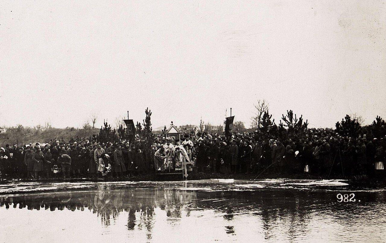 Wasserweihefest in Wladimir Wolinsky