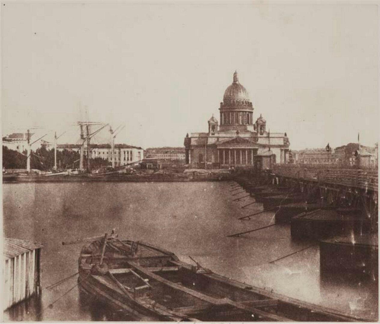 1852. Исаакиевский собор Санкт-Петербурга