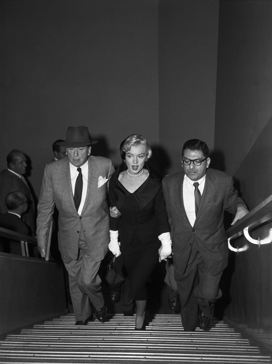 Marilyn with Jerry Giesler
