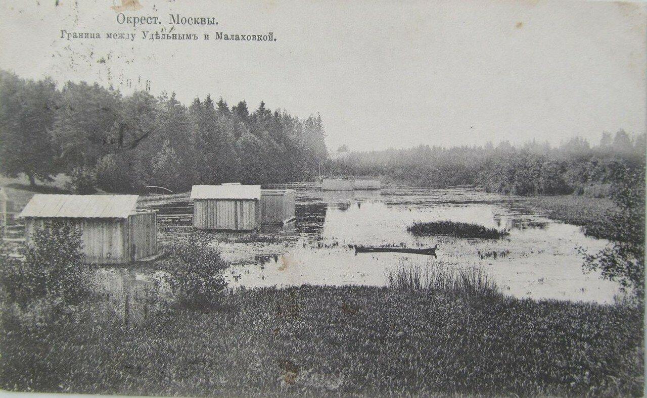Окрестности Москвы. Удельное. Малаховка. Граница