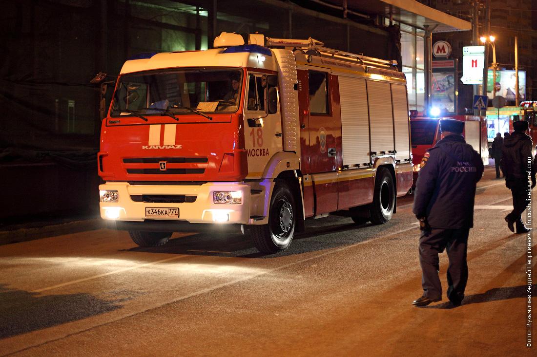 ликвидация пожара в метро фотографии