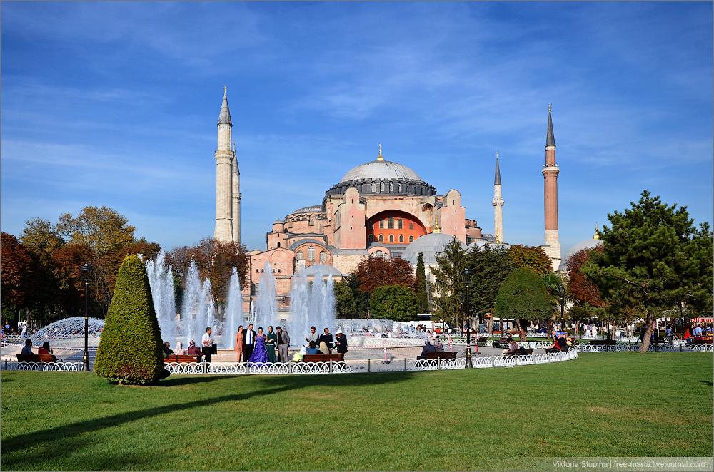 Стамбул Айя-Софья