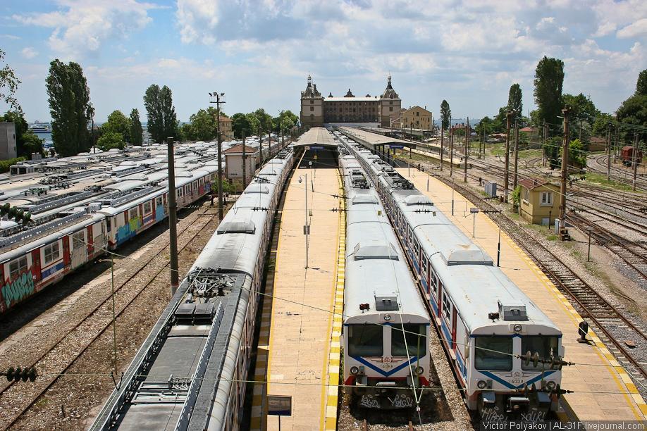 Стамбул. Вокзал
