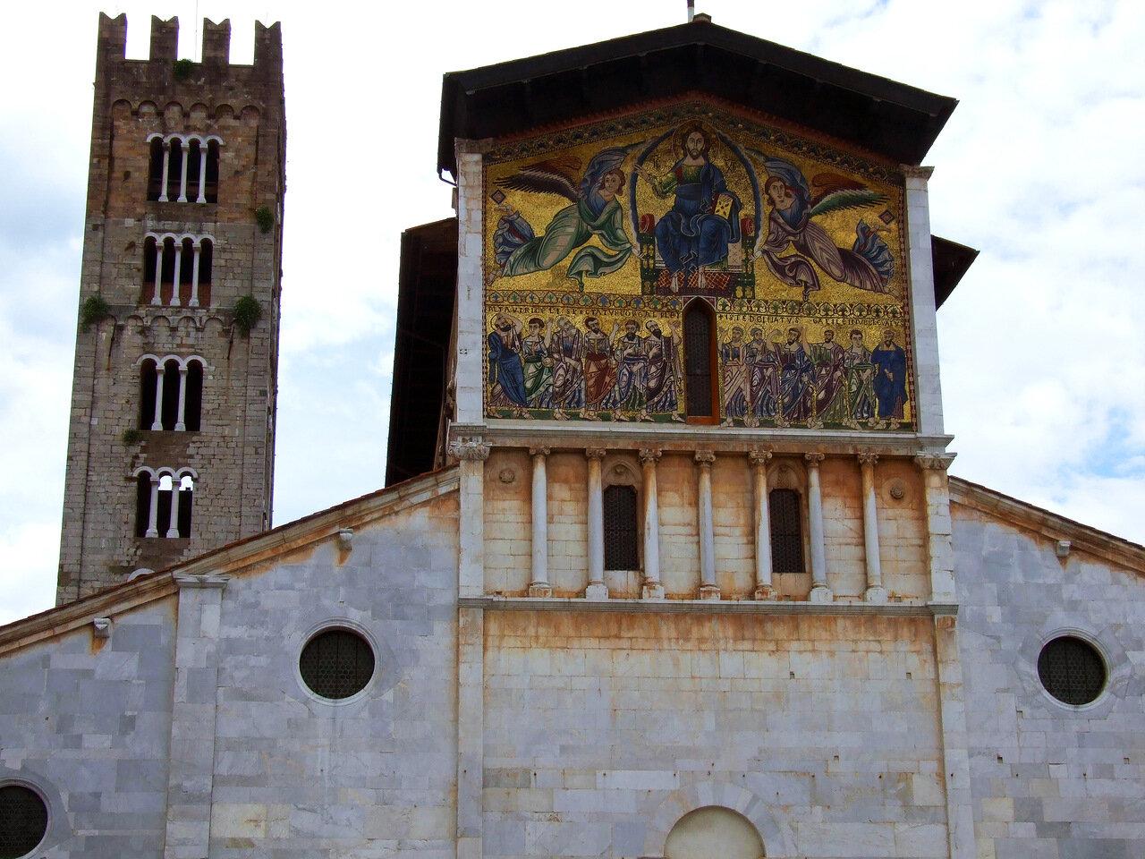 Церковь Сан-Фредиано (Basilica di San Frediano) в городе Лукка (Lucca)