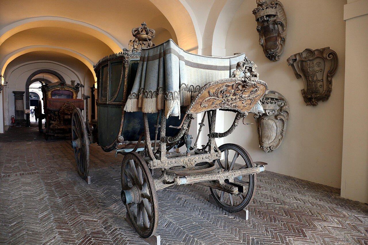 Неаполь. Музей Сан-Мартино. Королевские кареты