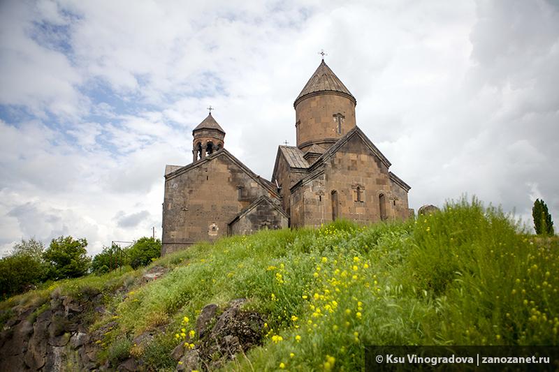 Монастырь Сагмосаванк. Армения.
