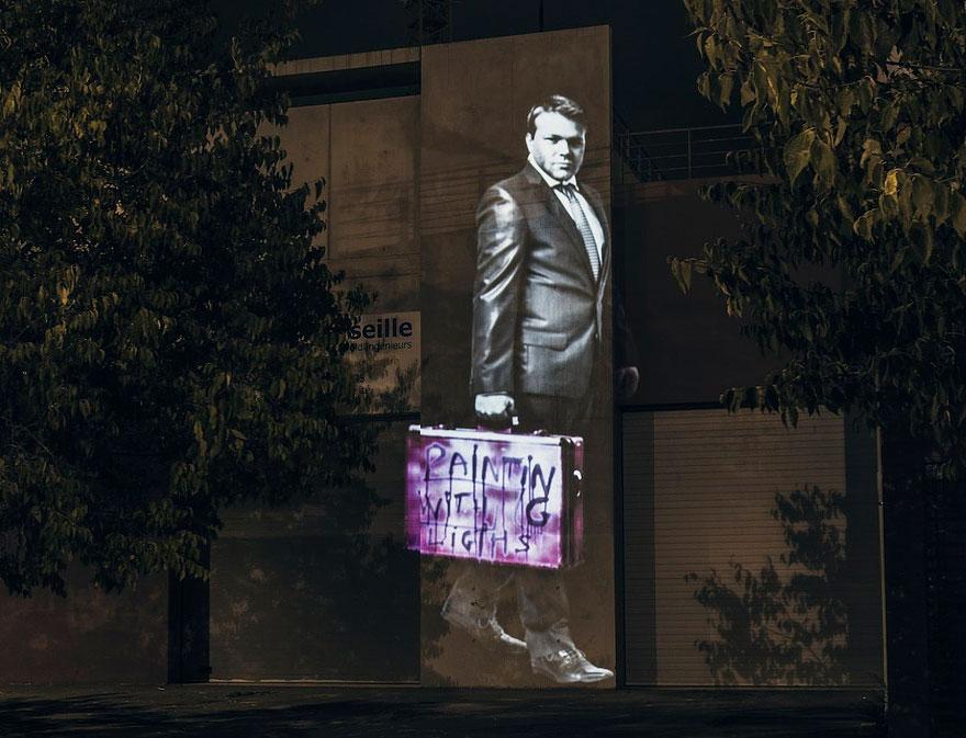 Световые граффити  Филиппа Эb50шару / Philippe Echaroux. Арт-проект «Painting With Lights»