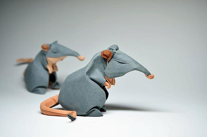Оригами от Хоанга Тьен Куета (16 фото)