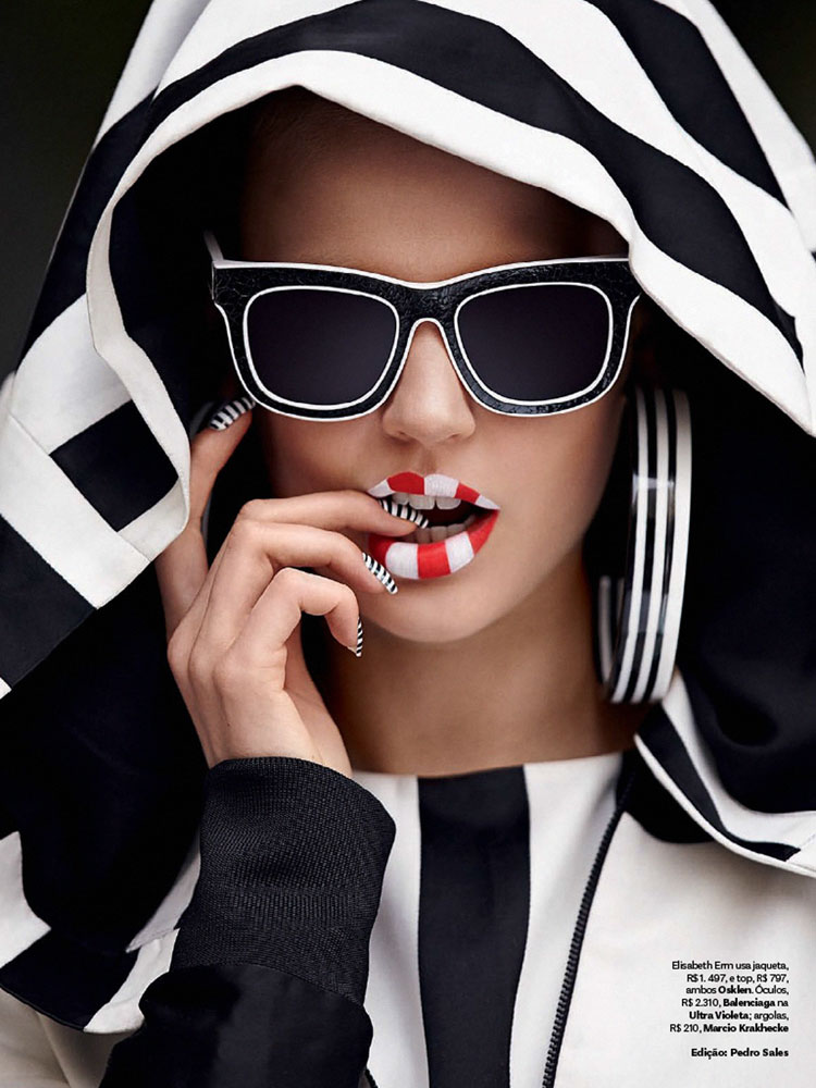 Элизабет Эрм в Vogue Brazil