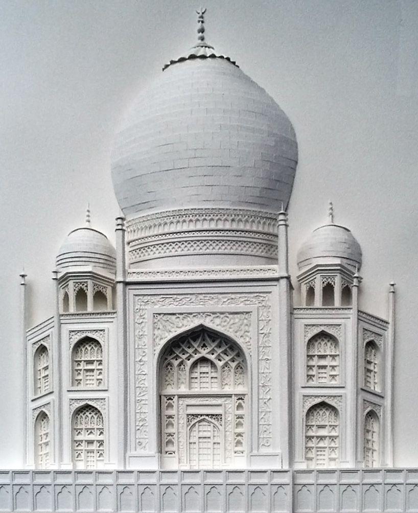 Бумажная архитектура от Christina Lihan