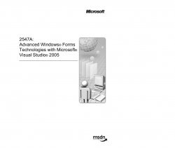 Книга Advanced Windows Forms Technologies with Microsoft Visual Studio 2005