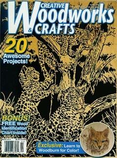 Журнал Журнал Creative Woodworks & Crafts №4 2005