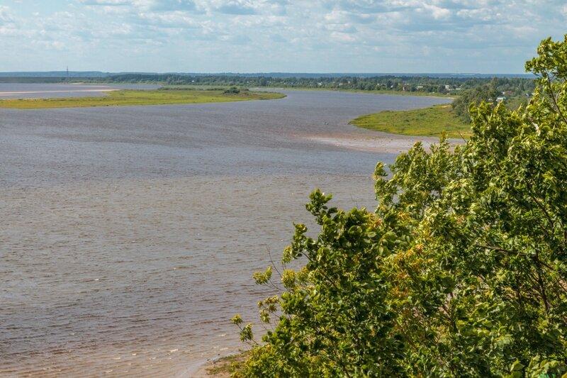 Волга в Городце