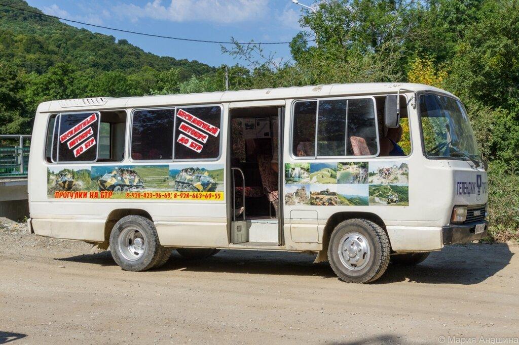 Автобус, БТР