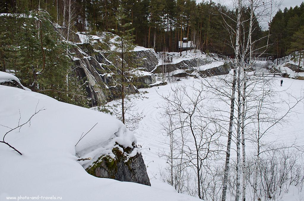 Фотография 25. Домик на озере Тальков камень. Образец фото, полученного на любительскую зеркалку Nikon D5100 KIT 18-55. На фотоаппарате стояли такие параметры съемки: 100, 18 (27), 8, 1/15