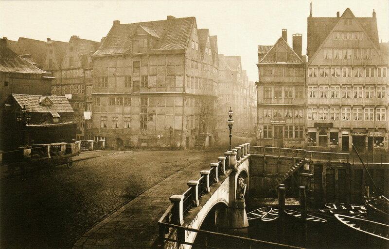 Мост Брукс, в направлении на Кервидер (1873)