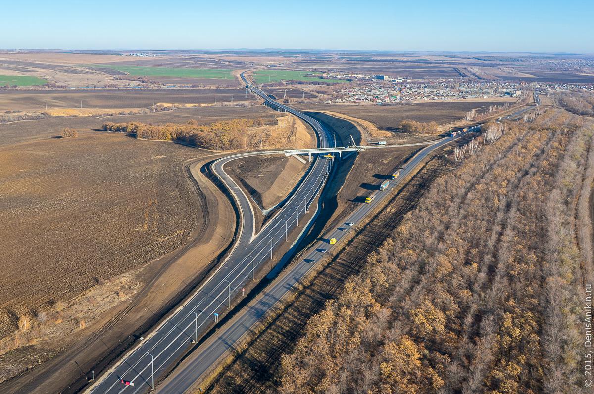Строительство автодороги в обход Елшанки 8