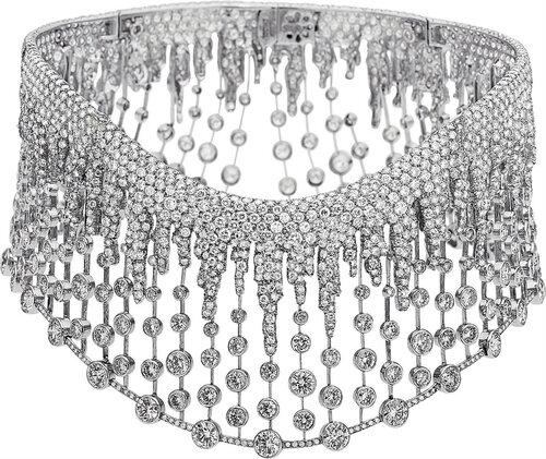 Fred Leighton - Diamond, Platinum Necklace