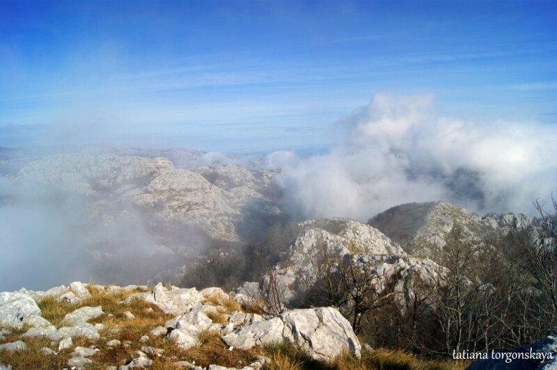 Вид с вершины Радоштак