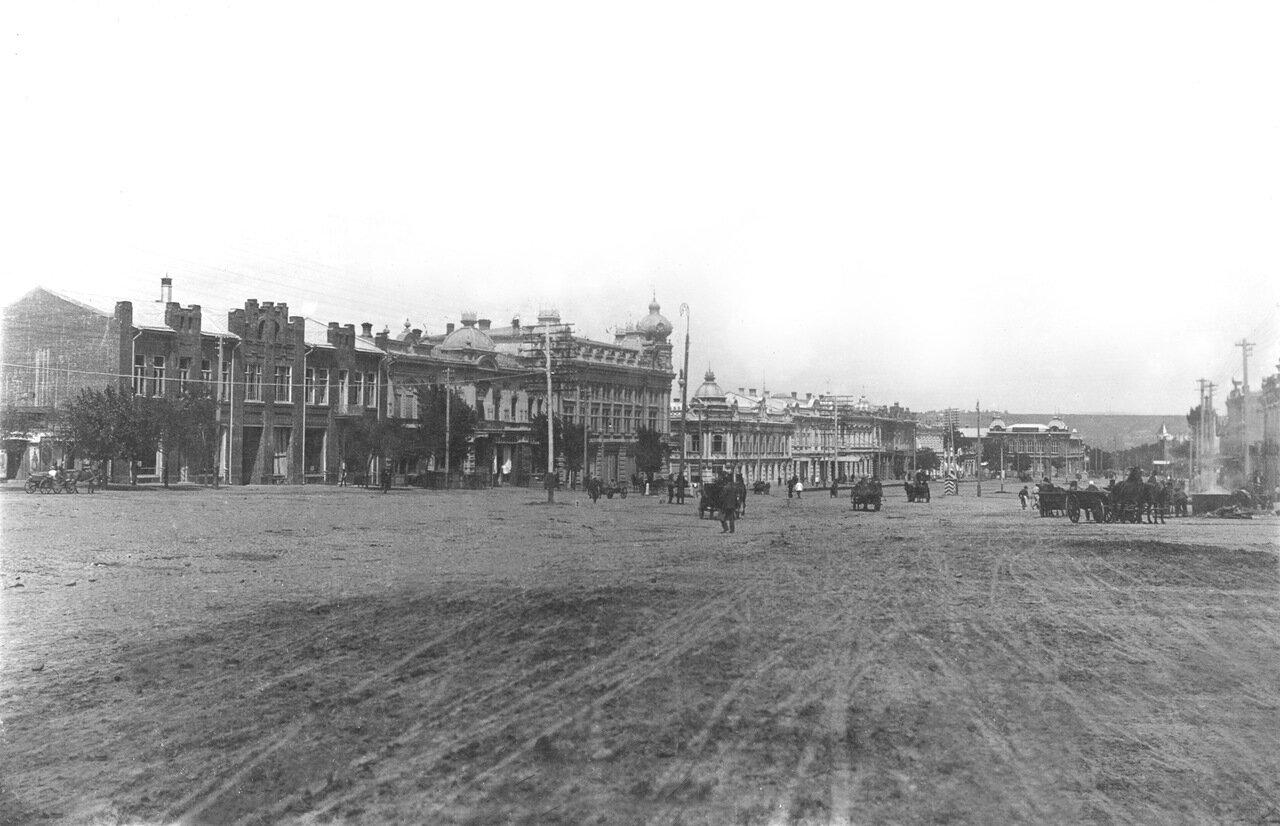 05. Западная сторона проспекта от ул. Почтовой к ул. Бульварной. 1913