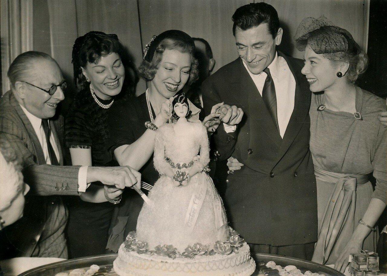1953. Роберт Ламуре и Люсьен Гранье