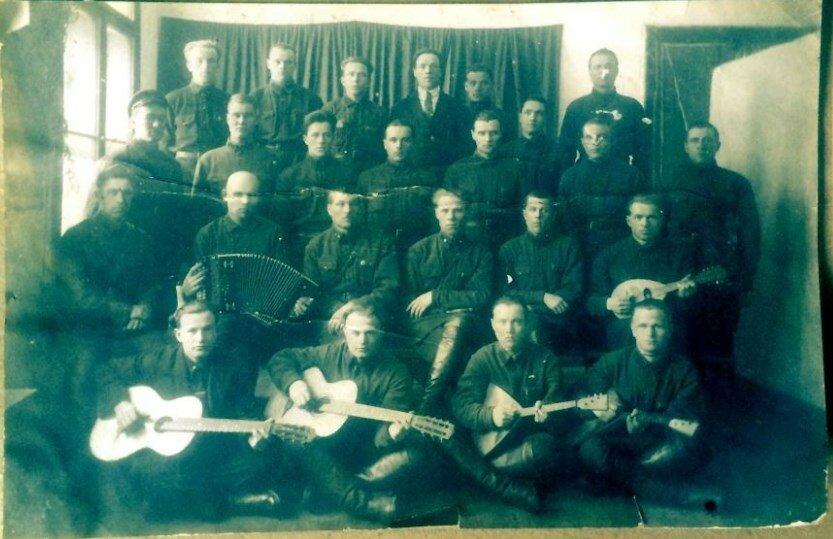 1933. Челябинск. Сборы в учебном центре НКВД