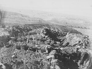 03. Вид Редана в сторону Большого ущелья. 8 сентября 1855